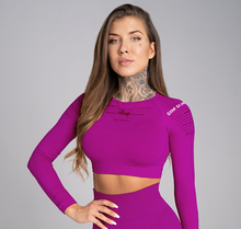 Gym Glamour - Rashguard - Flash - Vorderseite Detail