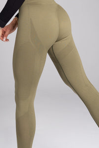 Gym Glamour - Seamless Leggings – Combat - Seitlich Detail