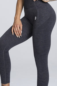 Gym Glamour - Seamless Leggings – Dark Blue - Detail