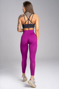 Gym Glamour - Seamless Leggings – Flash - Rückseite
