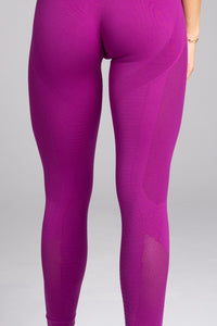 Gym Glamour - Seamless Leggings – Flash - Rückseite Detail