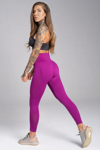 Gym Glamour - Seamless Leggings – Flash - Seitlich