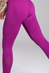 Gym Glamour - Seamless Leggings – Flash - Seitlich Detail