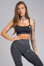Gym Glamour - Seamless Top - Dark Blue - Vorderseite