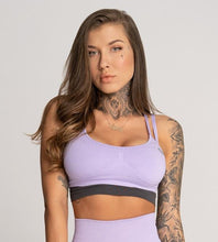 Gym Glamour - Seamless Top - Lila - Vorderseite Detail