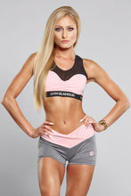 Gym Glamour - Shorts - Grey & Pink - Vorderseite 2