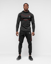 HERA x HERO - Dual Joggers - Black & Red - Vorderseite