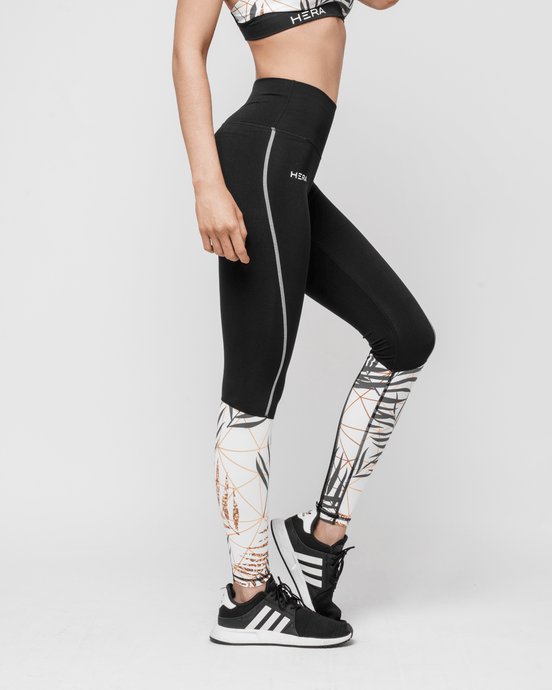 HERA x HERO - GiaMetta Feather Leggings - Seitlich 1