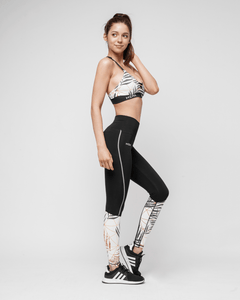 HERA x HERO - GiaMetta Feather Leggings - Seitlich