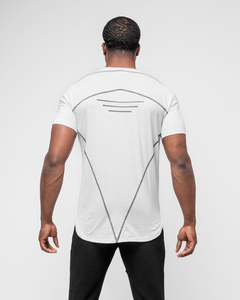 HERA x HERO - Tri T-Shirt - Marble Grey - Rückseite