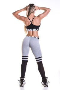 Nebbia - Leggings Over the Knee - Grey (286) - Rückseite Gesamt