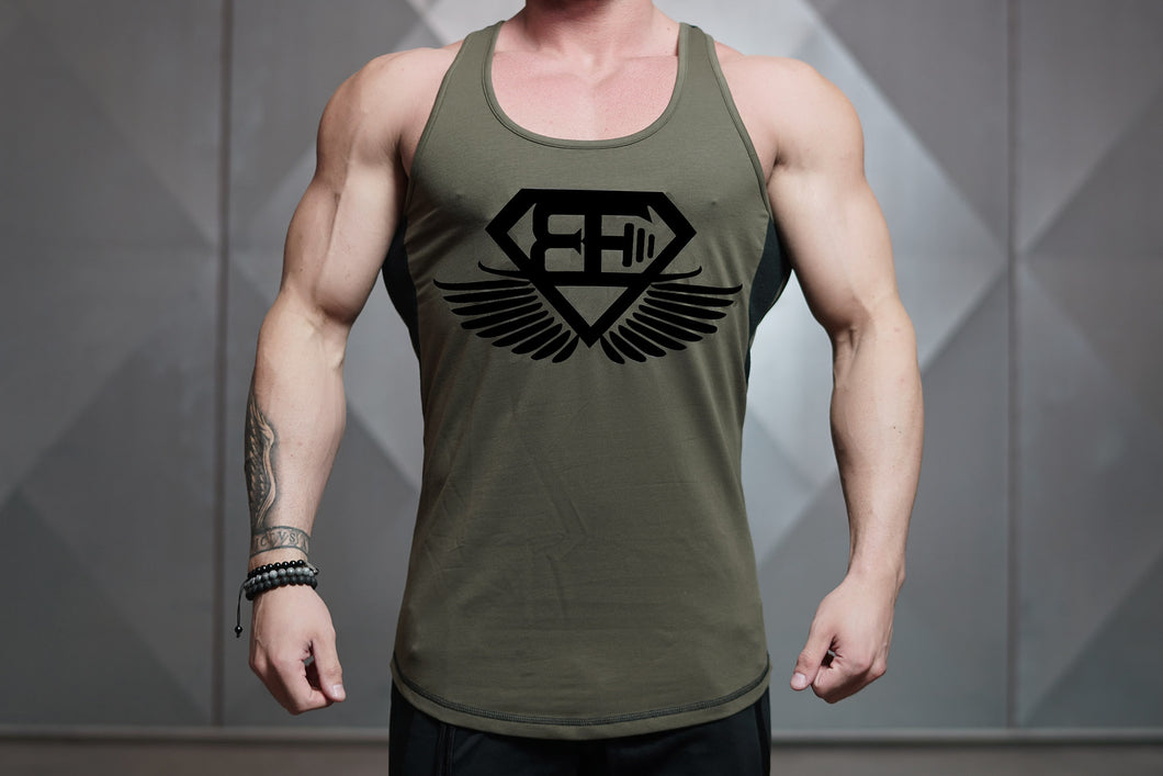 Body Engineers - LVL Stringer – War Green - Vorderseite