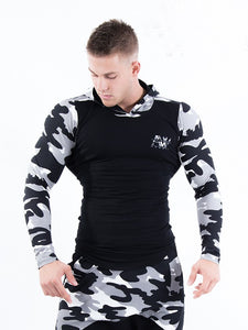 Nebbia - Hoodie AW - White Camo (116) - Vorderseite 2