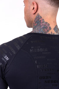 Nebbia - Hero Longsleeve - Black (146) - Detail