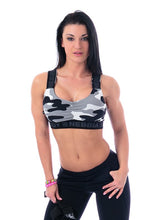 Nebbia - Mini Top - White Camo (206) - Vorderseite