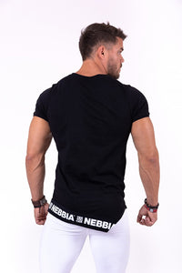 Nebbia - Rebel Shirt - Black (140) - Rückseite