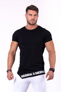Nebbia - Rebel Shirt - Black (140) - Vorderseite