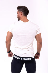 Nebbia - Rebel Shirt - Light Brown - Rückseite