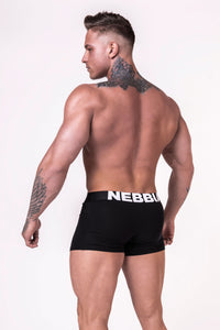 Nebbia - Men's Boxer Shorts - Black (701) - Rückseite