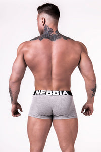 Nebbia - Men's Boxer Shorts - Light Grey (701) - Rückseite
