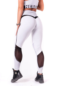 Nebbia - V-Butt Leggings - White (605) - Rückseite