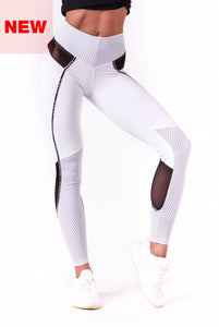 Nebbia - V-Butt Leggings - White (605) - Vorderseite