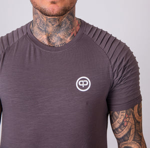Pablo & Capone - Mercury Shirt - Steel Grey - Vorderseite Detail