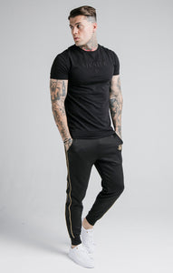 SikSilk - Astro Gym Tee - Black