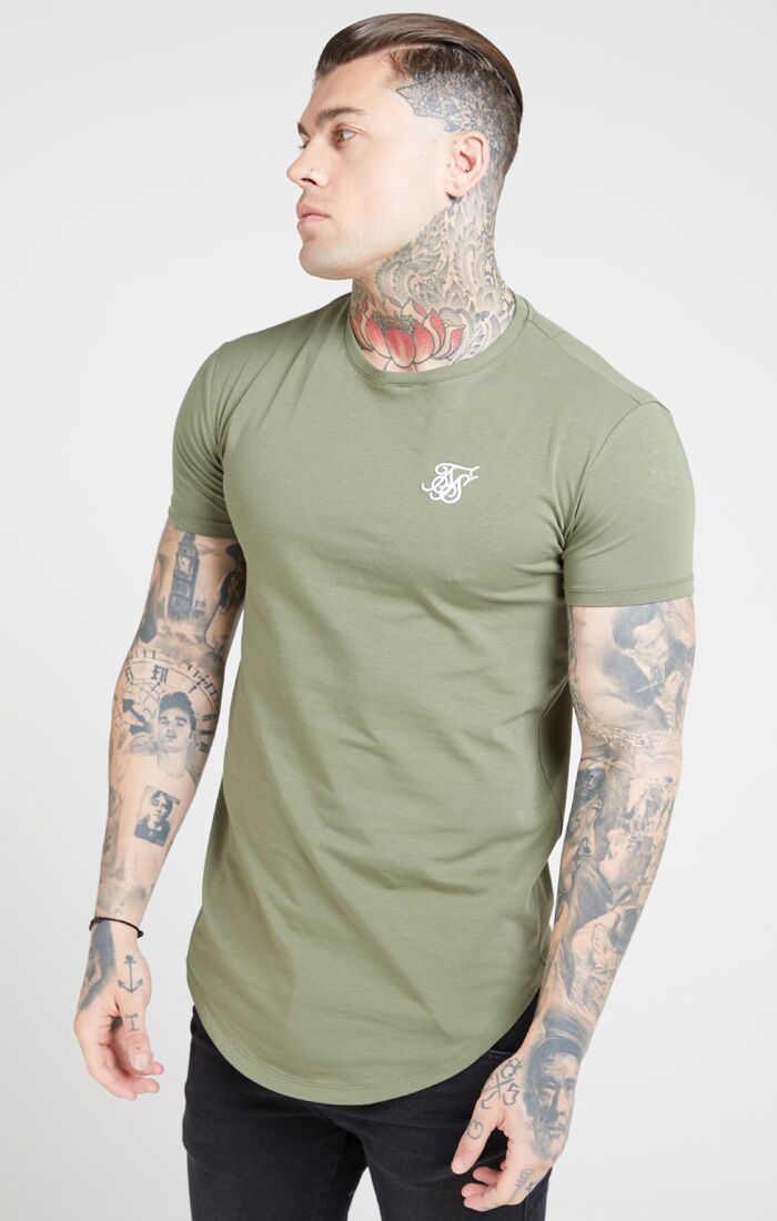 SikSilk - Core Gym Tee - Khaki