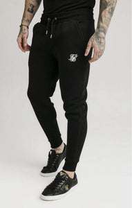 SikSilk - Muscle Fit Jogger – Black