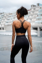 V3 Apparel - Contour Seamless Sports Bra - Black - Beispiel 1