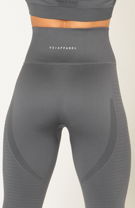 V3 Apparel - Contour Seamless Leggings - Grey - Detail 2