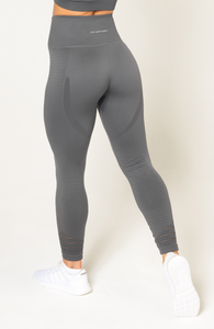 V3 Apparel - Contour Seamless Leggings - Grey - Rückseite 2