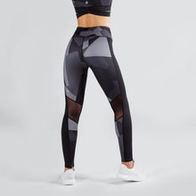 Workout Empire - Camo Tights - Obsidian - Rückseite