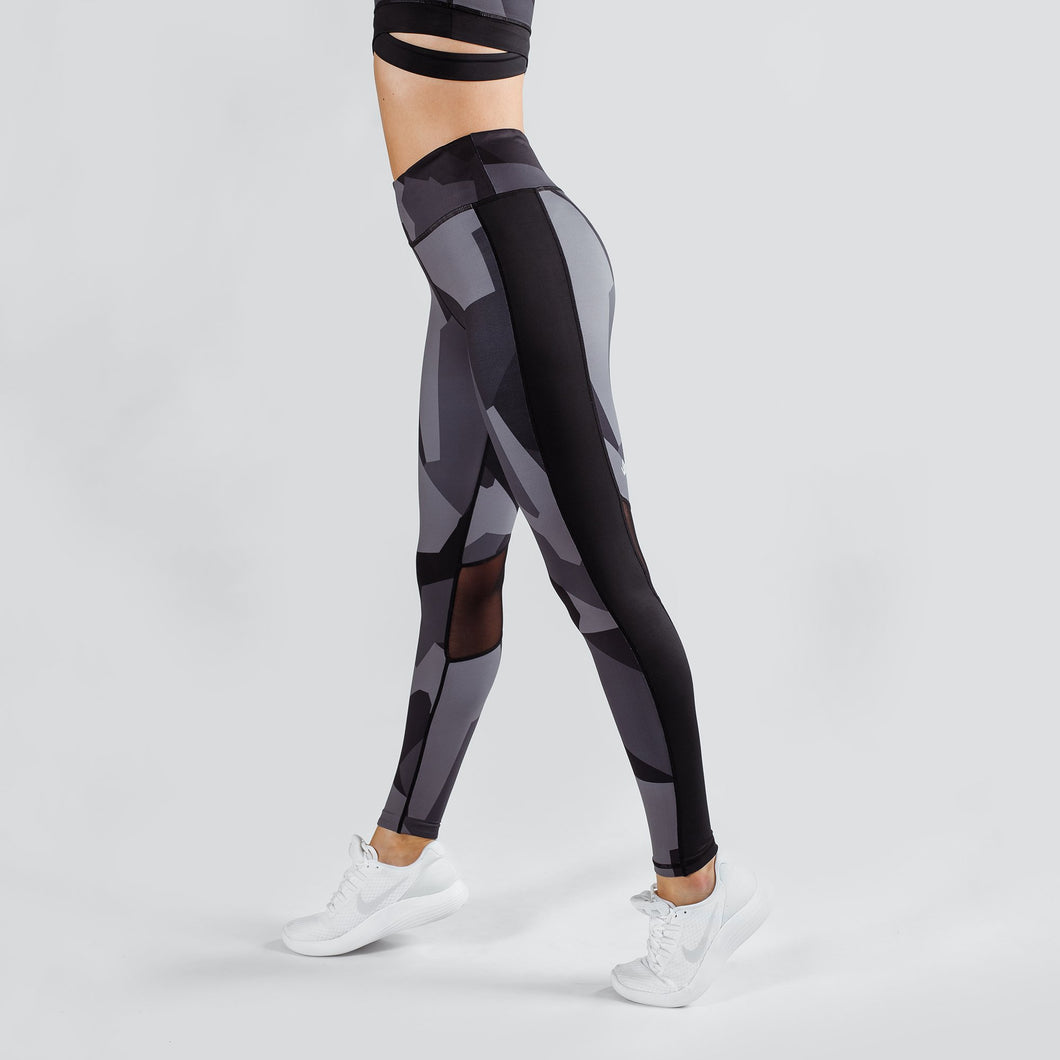 Workout Empire - Camo Tights - Obsidian - Seitlich