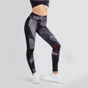 Workout Empire - Camo Tights - Obsidian - Vorderseite