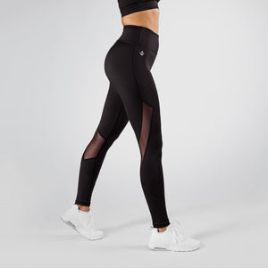 Workout Empire - Core Tech Tights - Obsidian - Seitlich