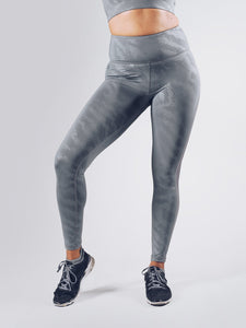 Workout Empire - Elevate Leggings - Silver - Vorderseite