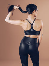 Workout Empire - Shine Bra - Black ( Power by Herrstedt ) - Rückseite
