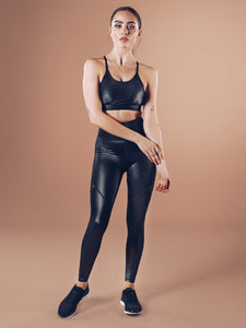 Workout Empire - Shine Leggings - Black ( Power by Herrstedt ) - Gesamt