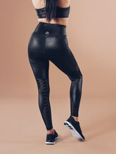 Workout Empire - Shine Leggings - Black ( Power by Herrstedt ) - Rückseite