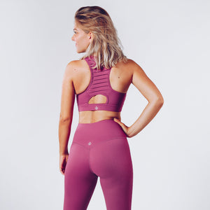 Workout Empire - Regalia Curve Bra 2.0 - Blueberry - Rückseite