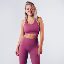 Workout Empire - Regalia Curve Bra 2.0 - Blueberry - Vorderseite
