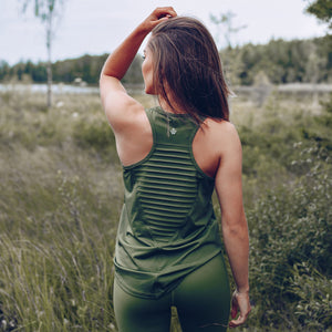 Workout Empire - Regalia Curve Tank 2.0 - Forest - Beispiel 1