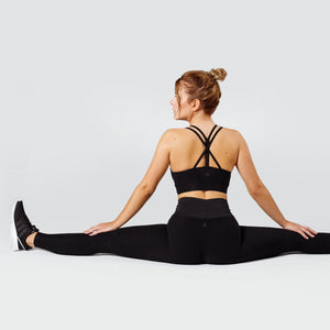 Workout Empire - Regalia Flow Leggings - Obsidian - Beispiel