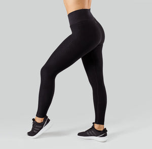 Workout Empire - Regalia Flow Leggings - Obsidian - Seitlich