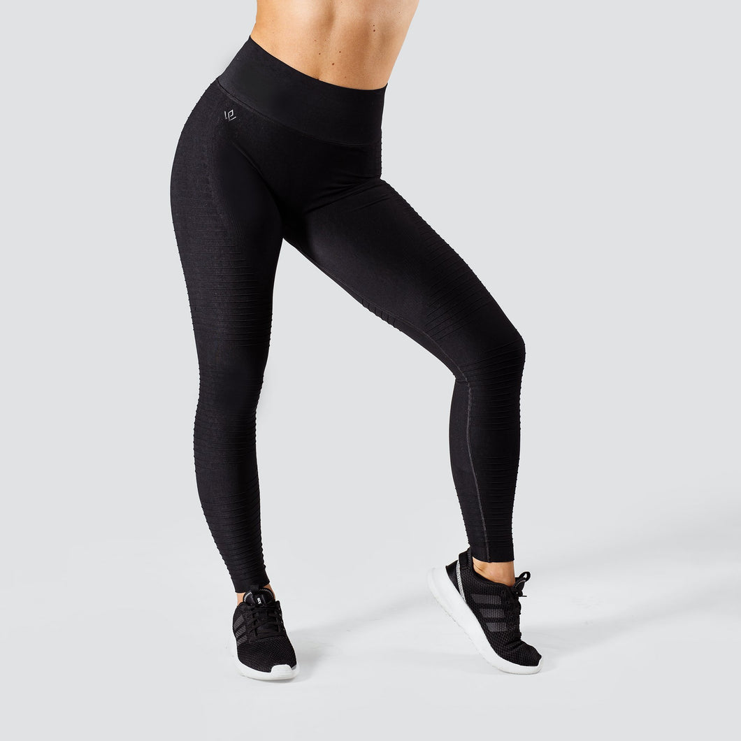 Workout Empire - Regalia Flow Leggings - Obsidian - Vorderseite