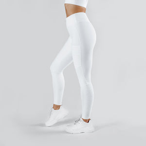 Workout Empire - Regalia Tights - Pearl White - Seitlich