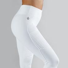Workout Empire - Regalia Tights - Pearl White - Seitlich Detail