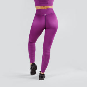 Workout Empire - Regalia Tights - Plum - Rückseite